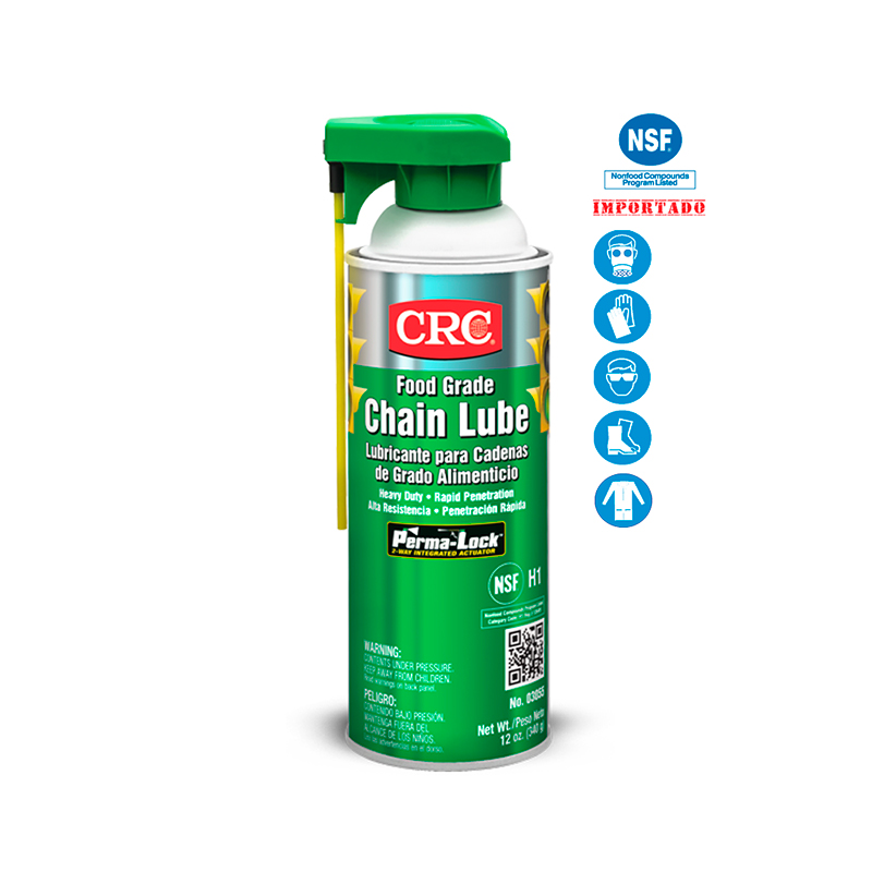 FOOD GRADE CHAIN LUBE REGISTRO NSF X 12 ONZ REF: 10228468