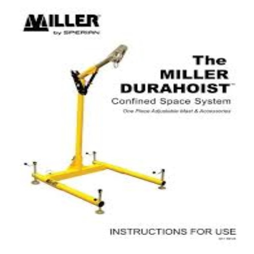 [370202008] BRAZO MILLER DURAHOIST TWO PIECE ADJUSTABLE UPPER MAST REF.DH-23