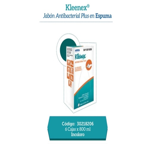 [159900934]  JABON SCOTT PURE ANTI-BAC ESPUMA X 800ML RF: 30218206/30223447  X  UN